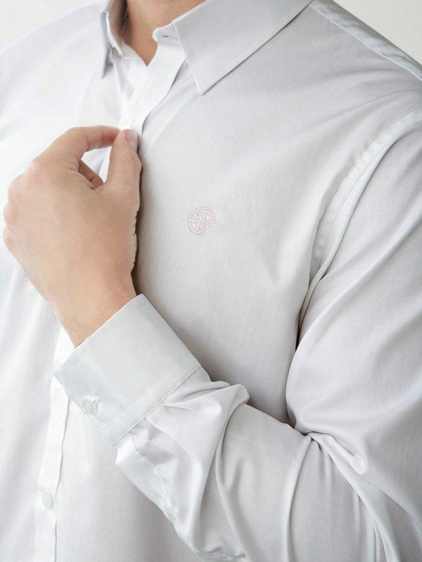 camisa para hombre blanca