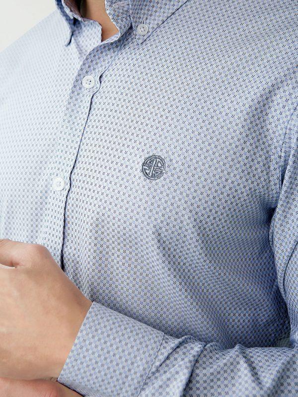 camisa para hombre estructura mini