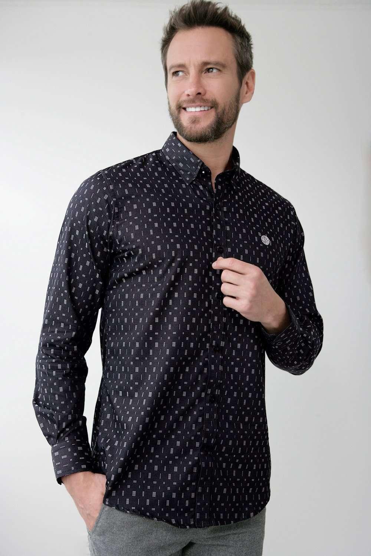 CuadrosErnus® Oficial Sitio Diseño Camisa Negra A OkXuwZiTP