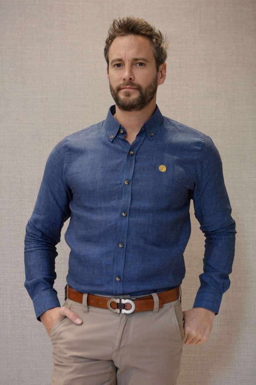 camisa-lino-azul-frente