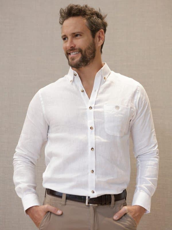 camisa-lino-blanca-frente