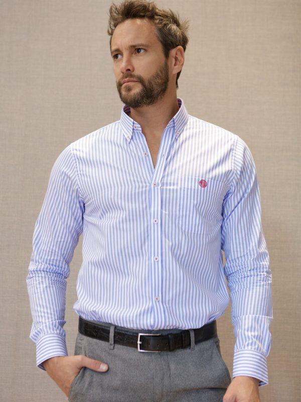 camisa-rayas-azul-frente